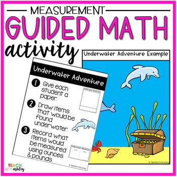 Measurement Guided Math Activity Underwater Adventure
