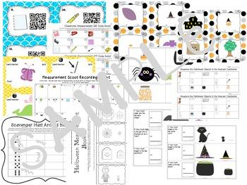 measurement halloween ins by caitlin kramer teachers pay teachers. Black Bedroom Furniture Sets. Home Design Ideas