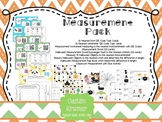 Measurement + Halloween Inspired Activities (2nd Grade CC Aligned)