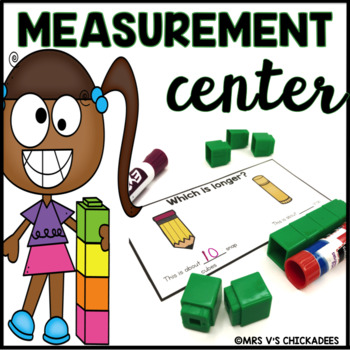 Measurement Hands on Center: Measuring Length With Manipulatives