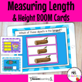 Measuring Height and Length Boom Cards Distance Learning