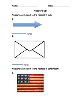 Measurement Homework