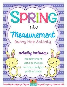Measurement Hop- Comparing Units Interactive Lesson