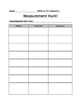 Measurement Hunt