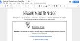Measurement Hyperdoc