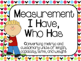 Measurement I Have, Who Has Games: 4.MD.1, 4.MD.2