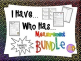 Measurement Bundle - 8 I Have, Who Has Games & Quizzes all in ONE!