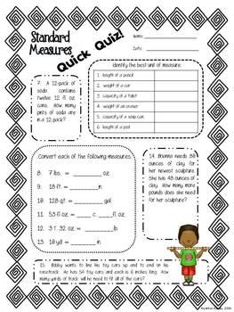 Measurement Standard