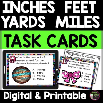 Measurement - Inches, Feet, Yards, Miles