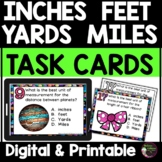 Measurement - Inches, Feet, Yards, Miles Task Cards