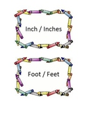Measurement: Inches, Feet, Yards, and Miles