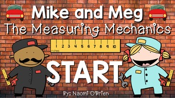 Measurement: Inches and Feet Jeopardy Style Game Show