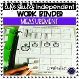 Measurement Work Tasks or File Folders