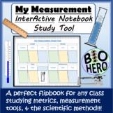 Measurement InterActive Notebook Flipbook
