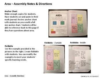 Measurement Interactive Math Journal