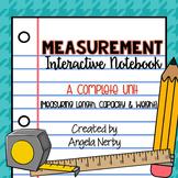 Measurement Interactive Notebook: A Complete Unit