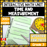 Measurement Interactive Notebook Grade 3