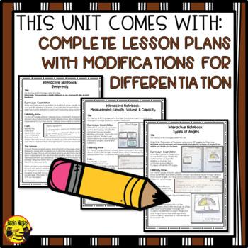 Measurement Interactive Notebook Grades 4-5