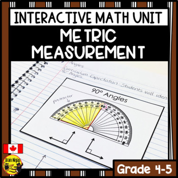 Measurement Interactive Notebook Grades 4-5