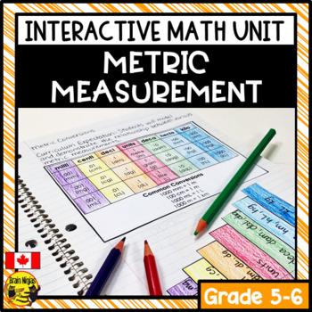 Measurement Interactive Notebook Grades 5-6