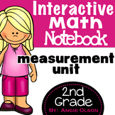 Measurement Second Grade Math Notebook