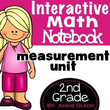 Measurement Second Grade Math Notebook
