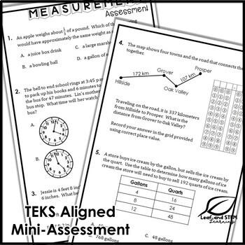 Measurement Interactive Notebook Set