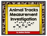 Measurement Investigation- Animal Tracks