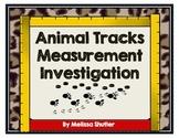 Measurement Investigation- Animal Tracks