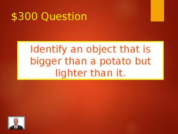 Measurement Jeopardy