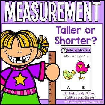 Measurement Center Game - K.MD.1