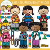 Math School Kids Measurement Clip Art