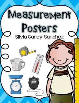 Measurement Kids Posters