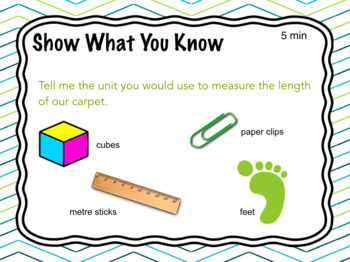 Measurement - Kindergarten FDK - lessons and activities for the ENTIRE YEAR