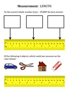 Measurement:  LENGTH (Quick Intro to Length for Lower Grades or Ability Levels)