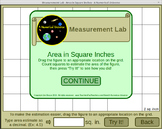 Area Estimation Game