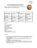 Measurement Lab: Making Cookies! (With Qualitative & Quantitative Practice)