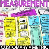 Measurement Lapbook Interactive Kit: Customary & Metric