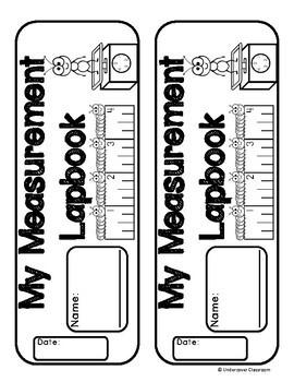 Measurement Lapbook Interactive Kit: Customary & Metric, Measurement Activities
