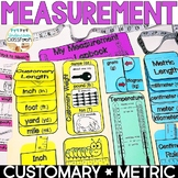 Measurement Lapbook Interactive Kit: Customary & Metric, Measurement Activities