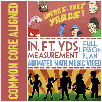 INCHES, FEET, & YARDS: Customary Conversions & Customary Measurement Activities