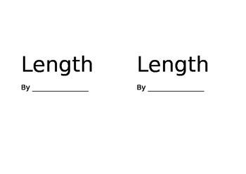 Measurement Length Booklet