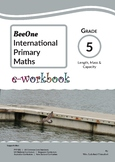 Grade 5 Measurement Workbook of 57 pages from BeeOne Books