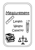 Measurement--> Length, Weight & Capacity