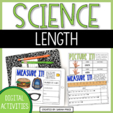 Measurement Length and Width Digital Activities for Google Slides