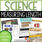 Measurement, Length, and Width Worksheets and Digital Acti