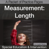 Measuring Length | Special Education Math | Intervention