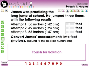 Measurement: Lengths & Weights - Learn the Skill - PC Gr. 3-5