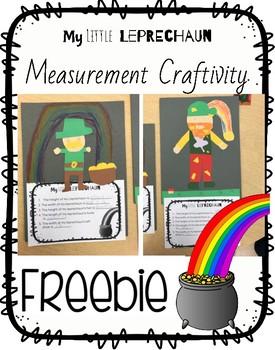 Measurement Leprechaun Craftivity