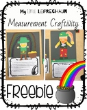 Measurement Leprechaun Craftivity